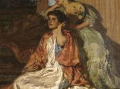 English: Moonlight Sonata, painting, oil on canvas, 80.5, 64.0, by Rupert Bunny