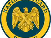 English: U.S. National Guard Bureau Seal