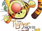 The Tigger Movie, a film based on the Disney adaptation of Tigger.