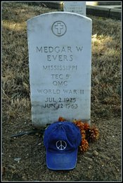 Medgar Evers, Assassinated Civil Rights Hero (The Peace Hat)