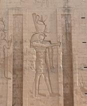 The temple of Horus at Edfu.