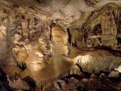 A view of the Big Room in Kartchner Caverns