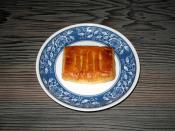 English: Unaginobori (A sweet pie at Furusato Sō-honke in Hamamatsu, Shizuoka, Japan) 日本語: 浜松の銘菓 うなぎのぼり(ふる里総本家)
