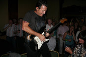 Tommy Castro performing in the Hillgrove Hotel on Friday night of Harvest Time Blues 2007.