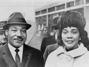 Martin Luther King, Jr. and Coretta Scott King.