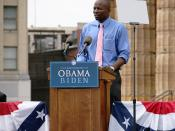 Reggie Love, personal assistant (body man) to Pesident-elect Barack Obama