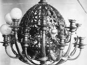 Chandelier, Louise and Andrew Carnegie residence, New York City
