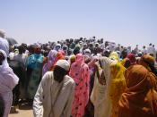 Crowd in Chad