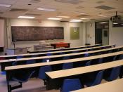 Third Floor Classroom at Ecole Polytechnique de Montreal