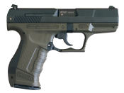 Walther P99, a semi-automatic pistol from the late 1990s.