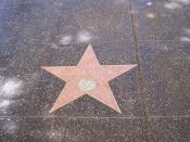 English: Buster Keaton star, 6619 Hollywood Boulevard