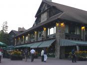 Chateau Montebello hotel in Montebello, Quebec, Canada