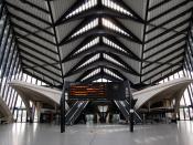Gare de Lyon Saint-Exupery