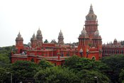 English: Chennai high court view taken by myself in a Nikon D 200 camera.