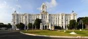 English: The Ripon Building, the headquarters of Chennai Corporation in Chennai. Français : Le Ripon building, siège de l'Hôtel de ville de Chennai (Madras), en Inde.