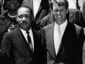 English: Attorney General Kennedy and Rev. Dr. Martin Luther King, Jr., 22 June 1963, Washington, D.C.