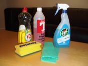 English: Cleaning tools