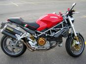 This is photograph of my Ducati Monster S4R that I took on 10-15-2005. S4R
