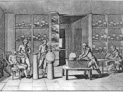 Madame Lavoisier (on the right) while assisting her husband on his scientific research of human respiration
