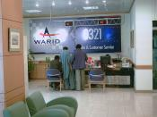 Warid Telecom customer services and sales point