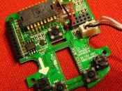 Mouse sensor PCB