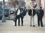 Mark, Arthur, Mike and Ken at 5th and I Street, NE, Washington DC on 17 January 1999 by Elvert Barnes Photography