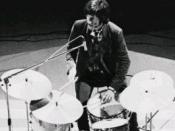 John Densmore, drummer of The Doors.