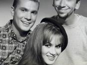 English: Publicity photo of Dwayne Hickman, Bob Denver and Yvette LeBlanc from the television show The Many Loves of Dobie Gillis.