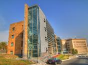 English: The American University of Armenia.