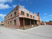 The old bedding Factory east village Calgary