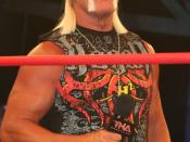 English: Hulk Hogan during a TNA Impact! taping.