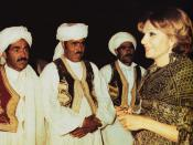 English: Shabanu Farah Pahlavi visits Birjand, Iran