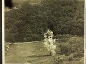 Strafing German Flak Tower