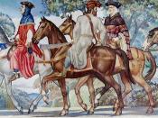 Ezra Winter, Canterbury tales mural (1939), Library of Congress John Adams Building, Washington, D.C.