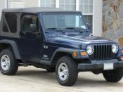 1997-2006 Jeep Wrangler X photographed in USA. Category:Jeep TJ