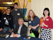 the gang + Richard Dawkins