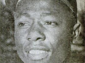 English: Milwaukee Braves outfielder and Hall of Famer Hank Aaron in a 1960 issue of Baseball Digest.