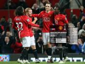 Scholes, Berbatov, United 2 - Spurs 1, Jan 24 2009