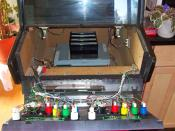 English: Inside of Neo Geo arcade video game