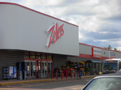 English: A Zellers store in Moncton, New Brunswick, Canada.