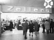 Zellers Rouyn-Noranda, Quebec 1972