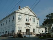 West Bridgewater Town Hall, West Bridgewater, Massachsuetts.