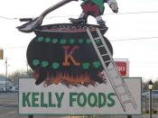 Kelly Food sign