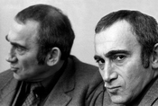 English: portrait of Lionel Bart