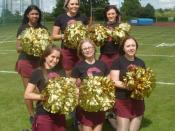 Ipswich Cardinal Cheerleading Squad