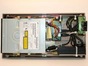 Commodore 1541 DVD-ROM drive: Innards