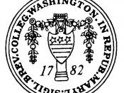 Seal Of Washington College