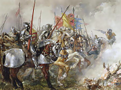 English: King Henry V at the Battle of Agincourt, 1415