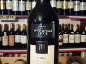 Wyndham Estate Bin 555 Shiraz