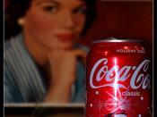 Connie Francis Likes Coke